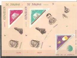2 Hb De Panama Una Dentada Y Otra Sin Dentar. - Panama