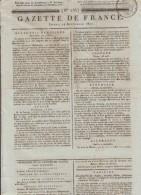 JOURNAL QUOTIDIEN N° 258 LA GAZETTE DE FRANCE Du Lundi 14 Septembre 1807 - Giornali