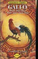 GALLO ZODIACO CHINO CATHERINE AUBIER 127  PAG ZTU. - Books, Magazines, Comics