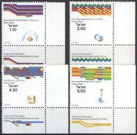 ISRAEL 1979 MI-Nr. 785/88 ** MNH (136) - Nuovi (con Tab)