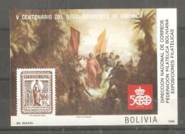 Hb De Bolivia. Descubrimiento America - Bolivia