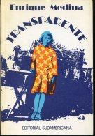 TRANSPARENTE ENRIQUE MEDINA EDITORIAL SUDAMERICANA 246  PAG  ZTU. - Boeken, Tijdschriften, Stripverhalen