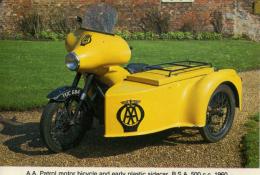 CAISTER CASTLE COLLECTION - BURDALL´S GRAVY SALT ADVERT - AA PATROL MOTOR BICYCLE No 5 - Motorbikes
