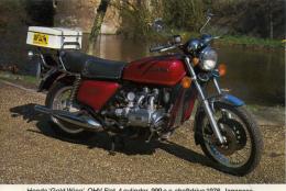 CAISTER CASTLE COLLECTION - BURDALL´S GRAVY SALT ADVERT - HONDA GOLD WING No 4 - Motorbikes