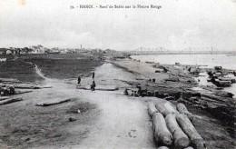 Tonkin - Hanoï -  Banc De Sable Sur Le Fleuve Rouge - Vietnam