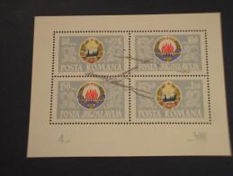 ROMANIA - BF 1965 CENTRALE - NUOVO(++) - Blocs-feuillets