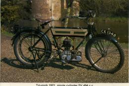 CAISTER CASTLE COLLECTION - BURDALL´S GRAVY SALT ADVERT - TRIUMPH 1921 No 6 - Motorbikes