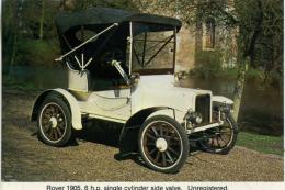 CAISTER CASTLE COLLECTION - BURDALL´S GRAVY SALT ADVERT - ROVER 1905 No 6 - Motorbikes