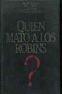QUIEN MATO A LOS ROBINS ? NOVELA  THOMAS CHASTAIN 159  PAG ZTU. - Livres, BD, Revues
