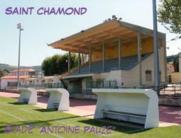 AK Stadion Postkarte Stade Antoine Pauze Saint Chamond St. Frankreich FRANCE Stadium Postcard Estadio Stadio Football - Fussball