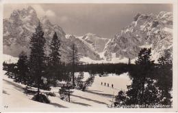 AK Wimbachtal Mit Palvenhörner - Winter - Ca. 1935 (23989) - Berchtesgaden