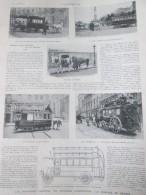 1905 Omnibus D Aujourd Hui  Et De Demain Paris  TRAM TRAMWAY - Non Classés