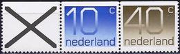 Netherlands 1976 - Figure ( Mi 1066 Do/1068 Do - YT 1042b/1044b ) MNH** - 1949-1980 (Juliana)