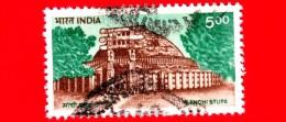 INDIA - Usato - 1994 - Sanchi Stupa - 5.00