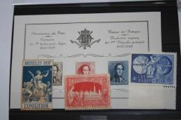 E43 (XX) + 812 (XX) + Vignette Expo 1897 (X)  COB : +ou- 30,00€ - Precancels