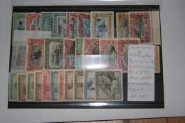 72/78+87+89+90(rouille)+91/4/95/8+104+106/17(SC) à Charnières Départ 10,00€ - Belgian Congo