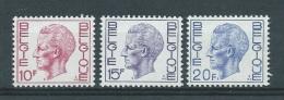 België       OBC     1584 + 1585 + 1587     (XX)       Postfris. - Unclassified