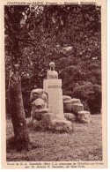 CHATILLON-sur-SAONE: Monument Monchablon, Buste De E.A. Bourdelle - Andere Gemeenten