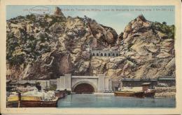 MARSEILLE.- Entrée Du Tunnel Du Rhone, Canal De Marseille Au Rhone Long 7 Km (38) - France