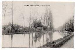 CPA - HERRY - EN BERRY - VUE SUR LE CANAL - N/b - Vers 1910 - - France