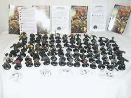 100 Pcs Mage Knight Figures Etc - Figurines