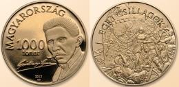 "Hungary 1000 Forint 2013 ""Geza Gardonyi: The Stars Of Eger"" PROOF - Hongrie"