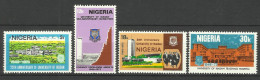 NIGERIA  1973  UNIVERSITY OF IBADAN ANNIVERSARY SET MNH - Nigeria (1961-...)
