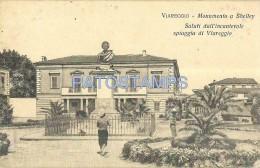 53677 ITALY VIAREGGIO LUCCA MONUMENT A SHELLY POSTAL POSTCARD - Non Classés