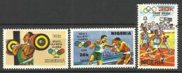 NIGERIA  1988 LOS SEOUL OLYMPIC GAMES SET MNH - Zomer 1988: Seoel