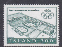 1980 Moscow Iceland Olympic Games MNH - Summer 1980: Moscow