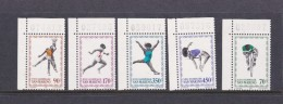 1980 Moscow San Marino Olympic Set MNH - Summer 1980: Moscow