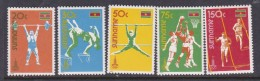 1980 Moscow Suriname Olympic Set MNH - Summer 1980: Moscow
