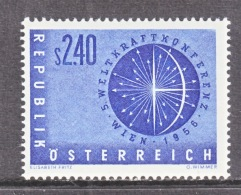 AUSTRIA   611   *   SCIENCE   EARTH   GLOBE - Astronomy