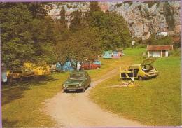 46 °° CABRERETS - Concentration De Simca Au Camping Du Cantal - Toilée écrite ° LUXE - Otros Municipios