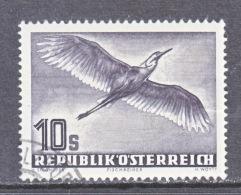 AUSTRIA   C 59  (o)   FAUNA  BIRD - Airmail