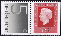 Netherlands 1976 - Figure ( Mi 1064 Dr/65Du - YT 1035a/1041b ) MNH** - 1949-1980 (Juliana)