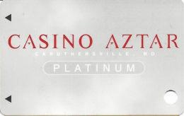 Casino Aztar Caruthersville, MO - Slot Card - (BLANK) - Casino Cards