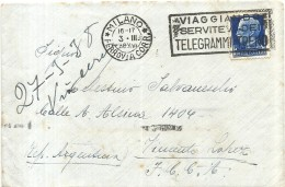 53722 ITALY MILANO LOMBARDIA COVER YEAR 1938 CIRCULATED TO ARGENTINA NO POSTAL POSTCARD - Alte Papiere