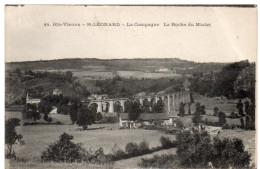 SAINT-LEONARD ( Haute Vienne ) -  La Campagne -  La Roche Du Mialet -  1924 - Saint Leonard De Noblat