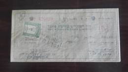 Israel-the Workers Bank Limited-(number Chek-426039)-(22lirot)-1946-(apal) - Israel