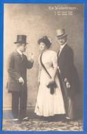 Fantaisie; Operette; Ein Walzertraum Mit Oskar Sachs, Josef Hönig Und Mizzi Wirth; Stempel 8.8.08;  Serie 391/3 - Oper