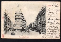 75 PARIS RUE DU PONT NEUF ANIMEE SAMARITAINE CARTE PRECURSEUR - France