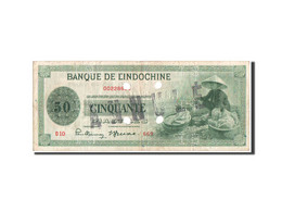 Indochine Française, 50 Piastres, 1941, SPECIMEN, KM:77s - Indochine