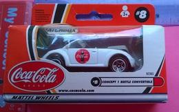COCA COLA MATTEL WHEELS CONCEPT 1 BEETLE CONVERTI BLE 2000 - Toys
