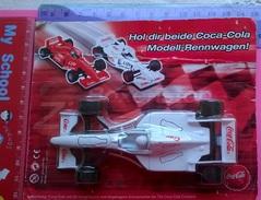 HOL DIR BEIDE COCA COLA  MODELL-RENNWAGEN! AUTO DA F1 - Giocattoli