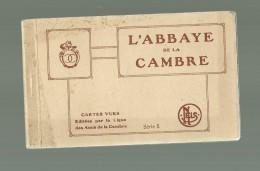 BRUXELLES L ABBAYE DE LA CAMBRE SERIE 5  CARNET DE 10 CPS - Belgique