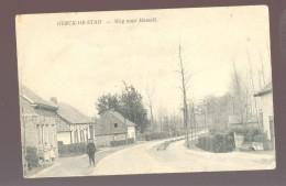 Cpa Herck De Stad  Weg Naar Hasselt - Herk-de-Stad