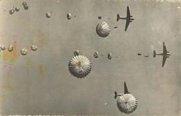 C-16 837 :  AVIATION MILITAIRE TROUPES AERPORTEES PARACHUTISME - Paracadutismo