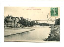 CP - Rabastens (81) Le Pont Suspendu - Rabastens