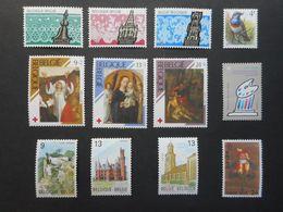 Belgique 1978-1989 (Lot De 20 Timbres) - Belgium